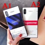 2018定番アイテムSUPREMEシュプリームコピーおしゃれ感が高まるボックスロゴーiphoneケース2色可選択男女兼用