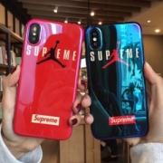 Supreme18年春夏新作おしゃれ感が高まるシュプリームボックスロゴiphoneケース2色可選択男女兼用