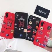 人気爆発2018携帯ケース ブランド コピー オシャレ度上がるSupreme×Nike×NBA Supreme iPhoneXケース上品 耐衝撃 セール
