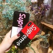 人気!シュプリーム 携帯ケース コピー  iphoneケースX supremeボックスロゴ insファション 大注目商品 ギフト用最適!