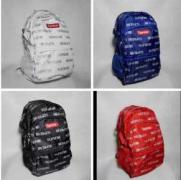 大活躍Supreme box logoシュプリーム リュック コピー カジュアル 超軽量 ナイロン 防水 バッグパック 赤色 ホワイト