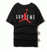 定番人気SALE●Supreme Tシャツ18SS入荷度高い シュプリーム Jordan Tee Black お洒落 大注目 半袖 着服 ブラック