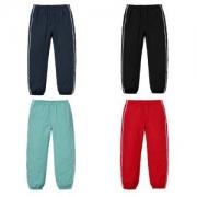 輝く高級感満点 Supreme Tonal Taping Track Pant 18AW 4色選択可 スエットパンツ 最も注目する